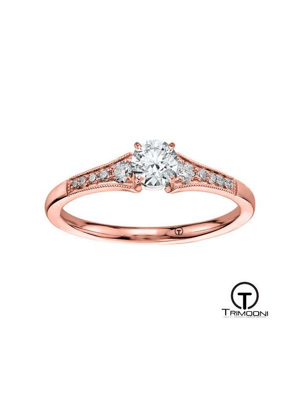 Xempre_ACOR || Anillo de Compromiso oro rosado Trimooni